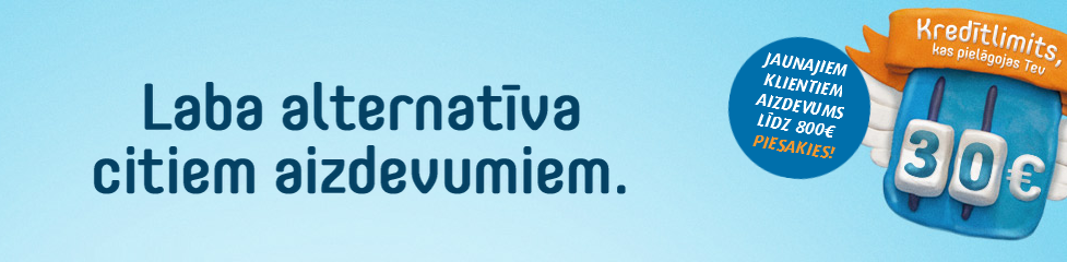 Ferratum - laba alternatīva!